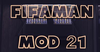 FIFAMAN mod 21 вышел!