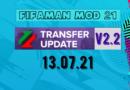 Обновление FIFAMAN mod v 2.2