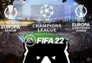 Еврокубки в РПЛ моде для FIFA 22